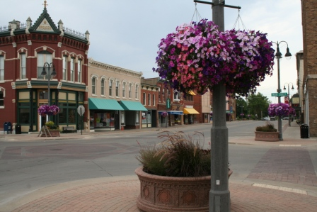 Downtown Grinnell, IA