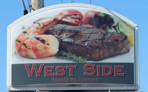 West Side Family Diner Sign