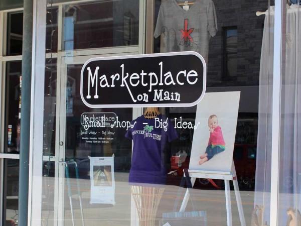 Marketplace on Main Storefront
